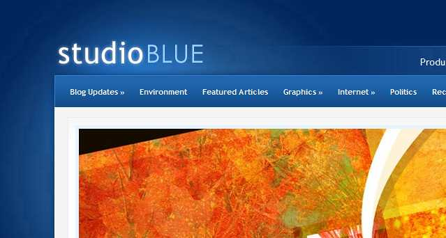 StudioBlue WordPress Theme free download