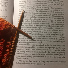 Home from my conference (first of the PhD!) and getting to my book list. #iammadamedefarge, #knitting, #charlesdickens, #phdlife