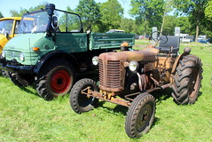 A rather rusty Zetor tractor