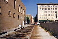 Passing Through Old Town Pasadena At Colorado Blvd