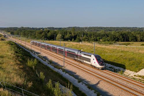 14 juin 2017 TGV D 854 Train 804519 St-Pierre-des-Corps -> Bordeaux Marsas (33)