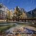 Merced River Fall Swirls by Jeffrey Sullivan