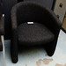 Charcoal tub chair E50