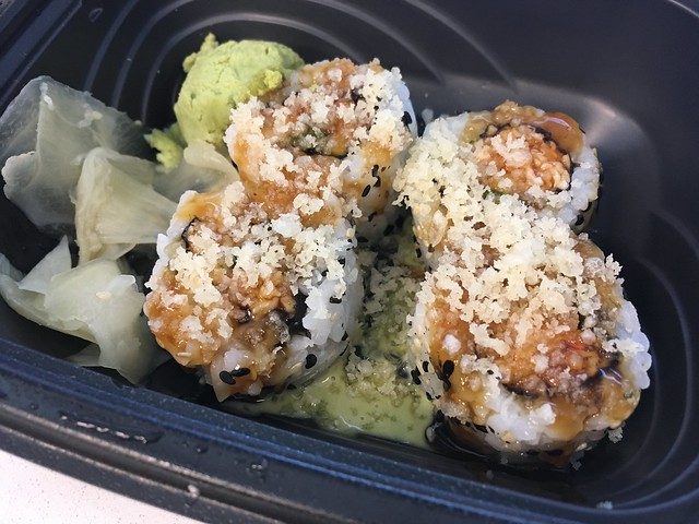 Wasabi crunch roll - Pei Wei Asian Diner
