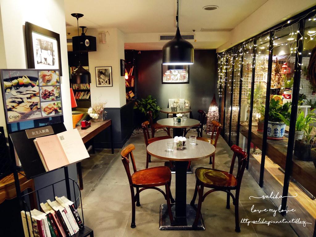 台北公館站不限時餐廳推薦瑪德蓮書店咖啡cafe madeleine (4)