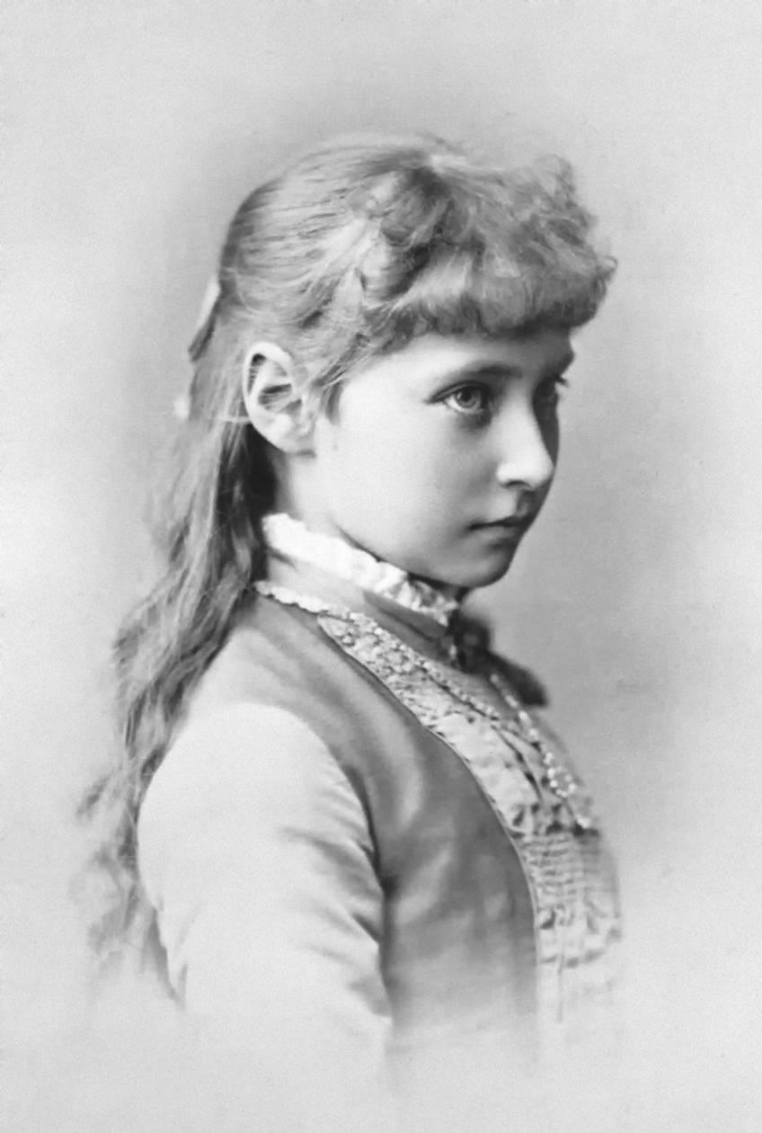 Princess Alix of Hesse, 1881