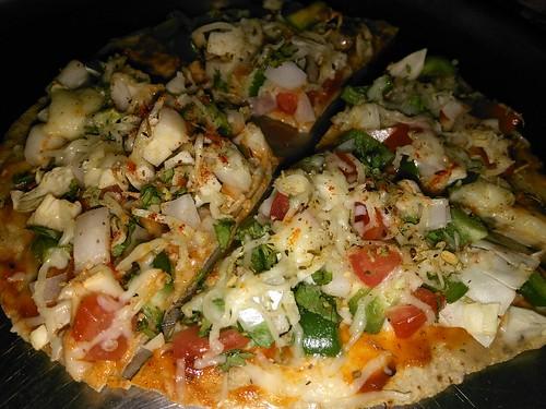 Roti Pizza - Healthy snack for kids / Tiffin Recipe /  Snacks for kids / Toddler snacks