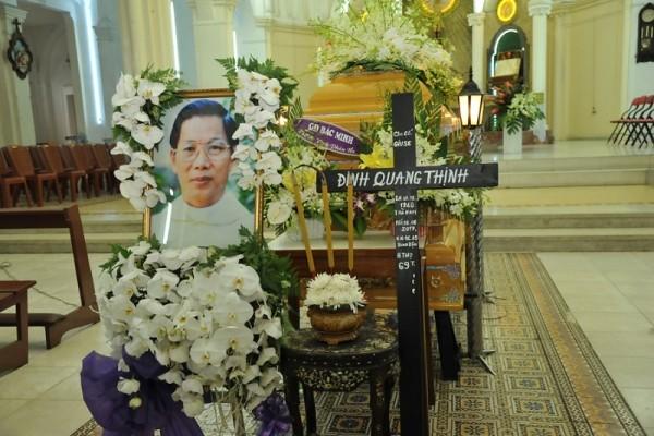 TGP Sài Gòn: Lễ An táng cha Giuse Đinh Quang Thịnh