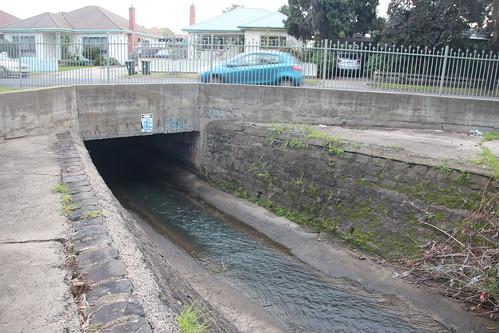 Underground entrance, Sussex Street - 100 photos of Merlynston Creek