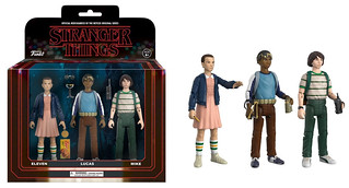 FUNKO Action Figure 系列【怪奇物語】Stranger Things 3.75 吋人偶作品