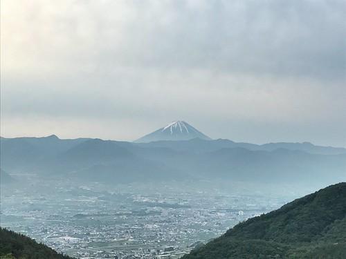 morning Fuji view from Hottarakashi camping field