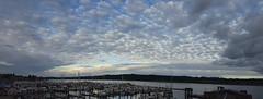 Eastern sunset over the Bremerton marina