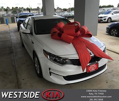 Happy Anniversary to Justan on your #Kia #Optima from Rick Hall at Westside Kia!