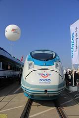 Siemens Velaro #93 75 9801 054-7 TR-TCDD & Pesa Dart #ED161-005a