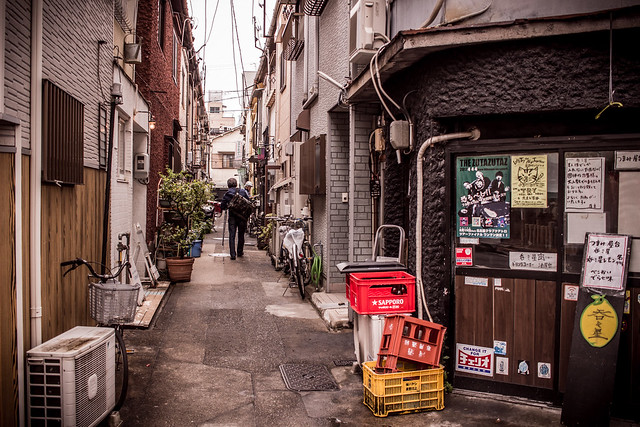 Nameless alley, Canon EOS KISS X7, Canon EF-S 24mm f/2.8 STM