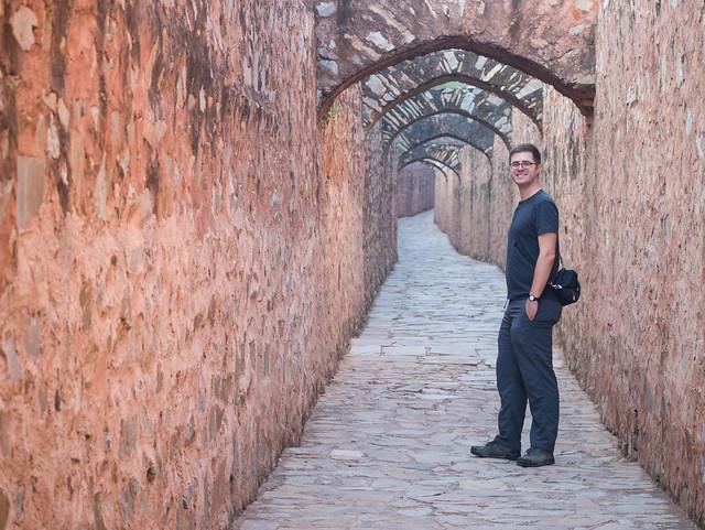 Tunnel to Jaigarh Fort, Panasonic DMC-GM1, LUMIX G VARIO 45-150/F4.0-5.6