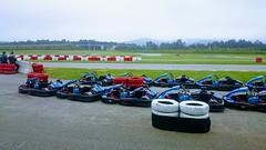 Kartodromo de Tapia de Casariego,  Asturias  Foto estilizada mediante Google Fotos.