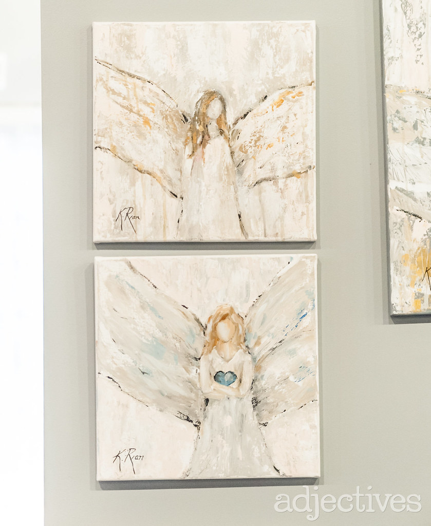 Hand painted angels in Altamonte by Kimberly Ryan Art