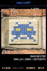 MAN_14 , Invader, Flash Invaders, street art Manchester