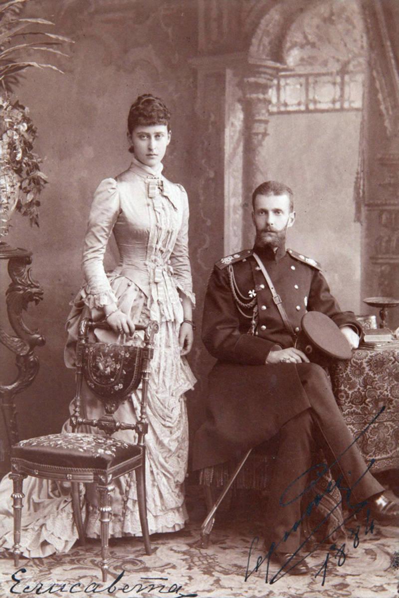 Grand Duchess Elizabeth Feodorovna of Russia and Grand Duke Sergei Alexandrovich of Russia, 1883