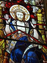 Arundel Castle - The Fitzalan Chapel - Stained Glass Window