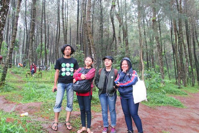 Me, my sister, Miss Nana's daughter and Miss Nana
