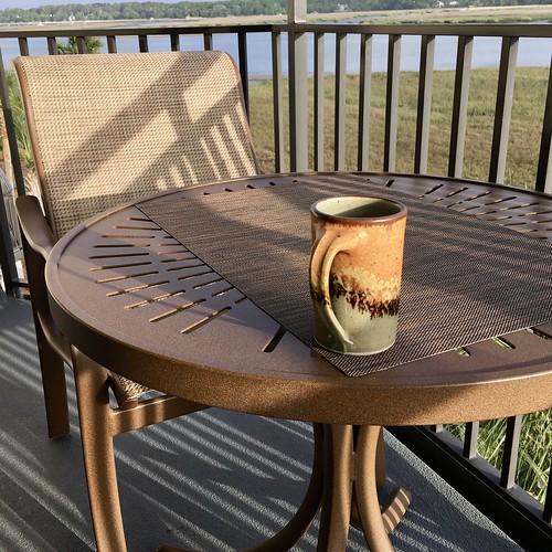 hiltonheadisland broadcreek southcarolina lowcountry 2017 sunrise appleipadpro shadows patterns texture