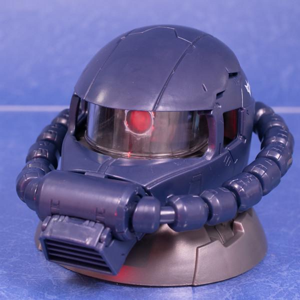 レビュー 機動戦士ガンダム EXCEED MODEL ZAKU HEAD(エクシードモデル ザクヘッド)黒い三連星機