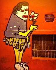 What are you looking for?  #painted #wall #building #drawing #colors #blue #urbanlife #urban #urbanart #recife #pernambuco #vscocamphotos #brazil #recifeantigo #VSCOcam #manoelquiterio