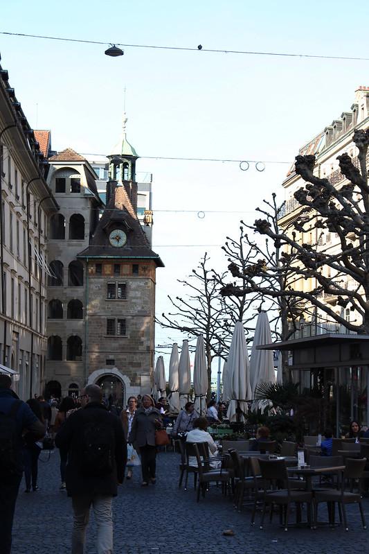 Place du Molard Genève