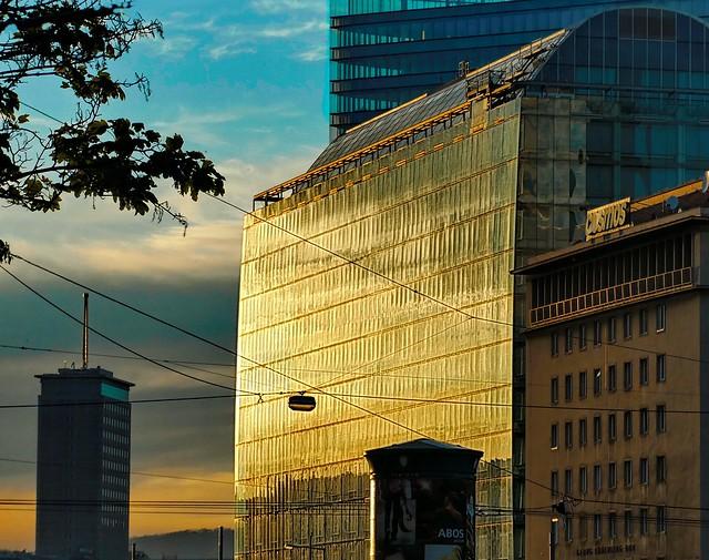 golden sunset in the, Panasonic DMC-TZ81