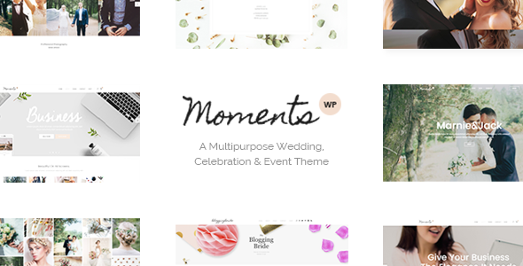 Moments v1.4 - A Multipurpose Wedding, Celebration & Event