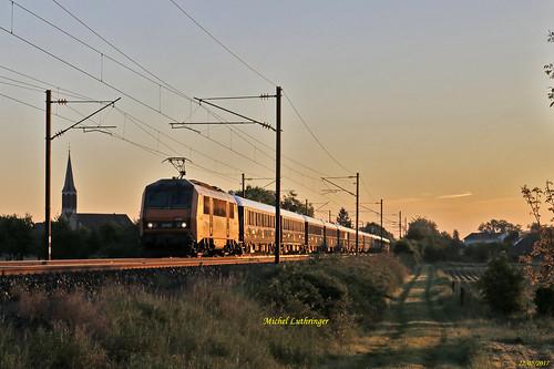 BB 26167 Train VSOE 27091 Calais-Venise à Raedersheim