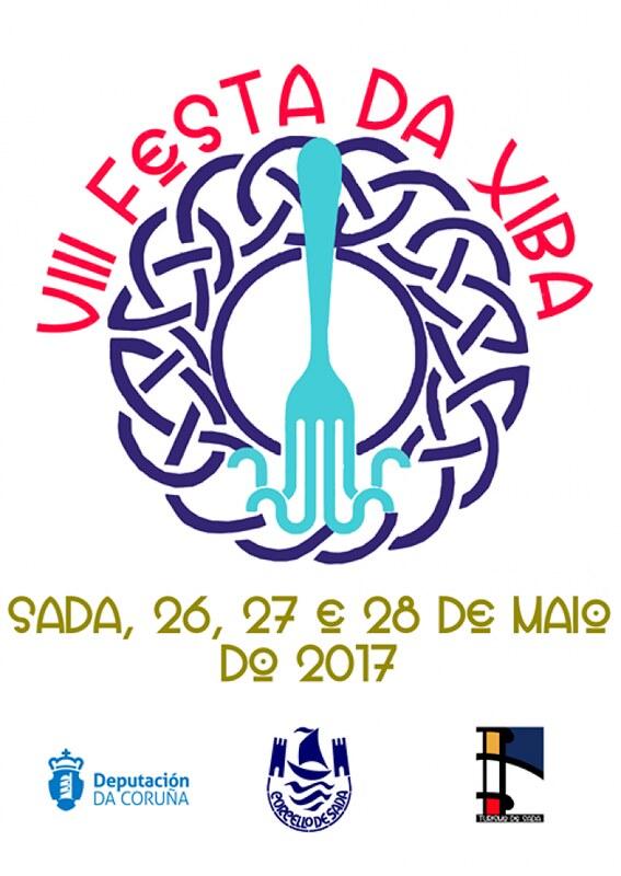 Sada 2017 - VIII Festa da xiba - cartel