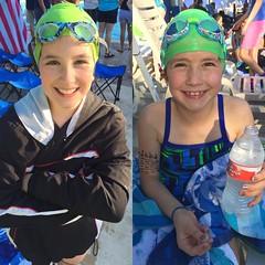 First swim meet of the season!