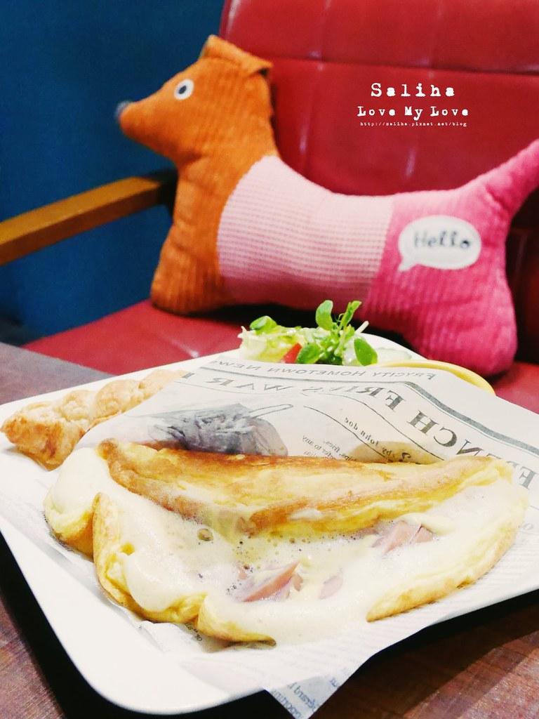台北東區忠孝敦化站附近早午餐brunch下午茶推薦Longtimeago Cafe 夢遊咖啡館 (4)