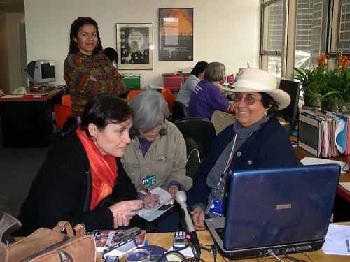 "APC_ Feminist International Radio Endeavour's ""Fireplace"", 2000"