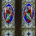 Lea, St Helen's church, window