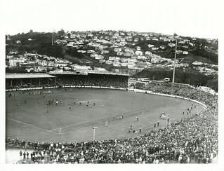 3rd Test between British Lions and NZ at Carisbrook Park, Dunedin (1977)