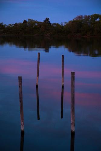 sunset charlestown rhodeisland unitedstates us horseshowcove