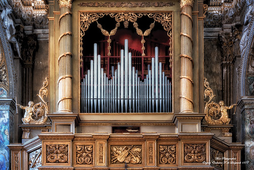 Organo Orchestra F.lli Lingiardi 1877 Cremona Chiesa di S. Pietro al Po
