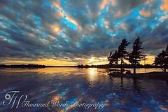 Sunset #sunset #boatride #boating #alexbay #alexandriabay #sunsetonthebay #clouds #cloudporn #reflection #sky #horizon #skyline #silhouette #beautiful