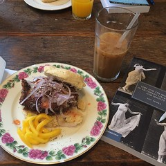Victorian time and delicious food. #booklist, #phdlife