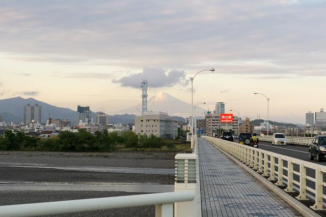 arriving in Shizuoka