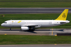 Royal Brunei | Airbus A320-200 | V8-RBT | Singapore Changi
