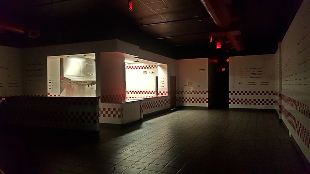 Former Five Guys in Aspen Hill, Maryland