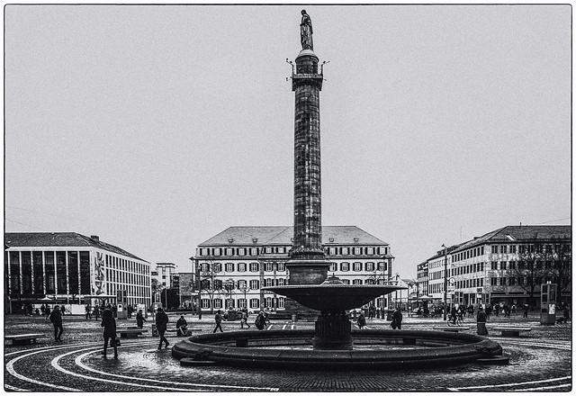 Darmstadt Luisenplatz, Pentax K-7, smc PENTAX-DA 18-55mm F3.5-5.6 AL WR