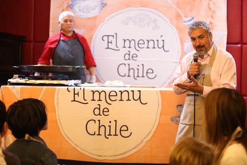 Menú de Chile Día del Patrimonio