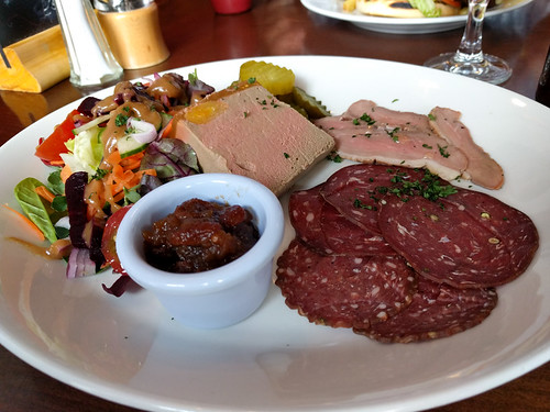 absolutely tasty meat plate @ Fiddler's