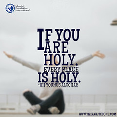 Quote of the Day: If You Are Holy...